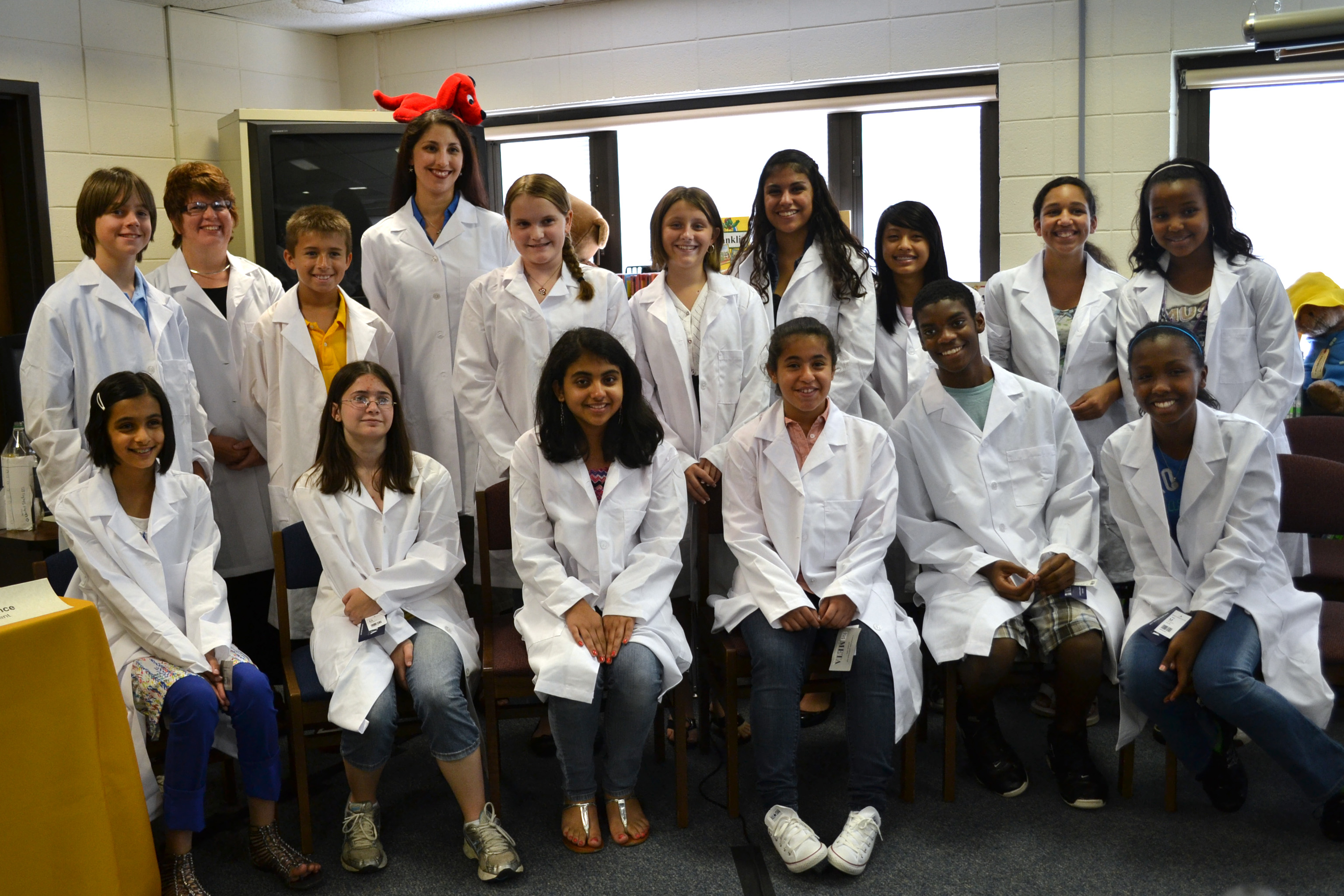 Students Discuss Experiment at Media Briefing   SSEP Blog ...