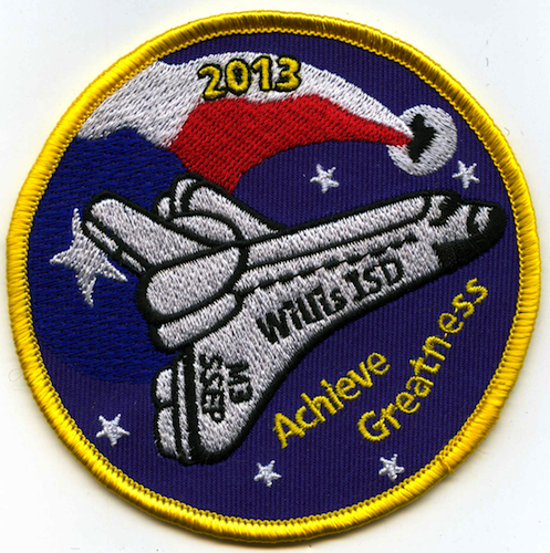 Willis Texas, Mission Patch 2