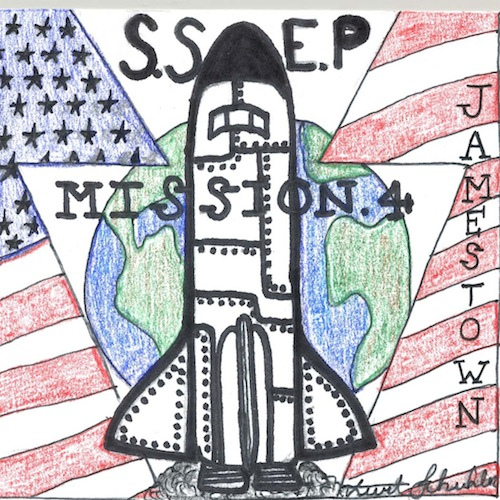 Mission Patches On Mission 4 To The International Space: Mission Patches On Mission 4 To The International Space