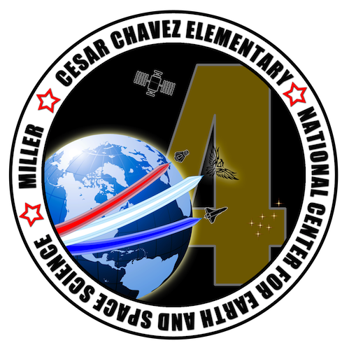 Mission Patches On Mission 4 To The International Space: Pharr, Texas, Mission Patch 2