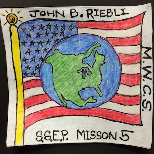 Santa Rosa, California, Mission Patch 1