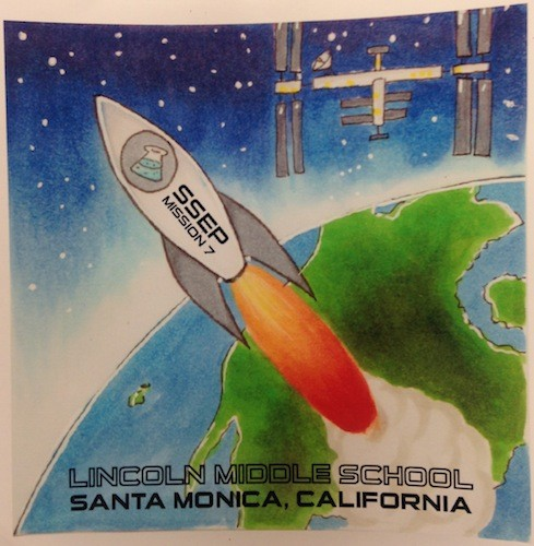 Santa Monica, California, Mission Patch 2