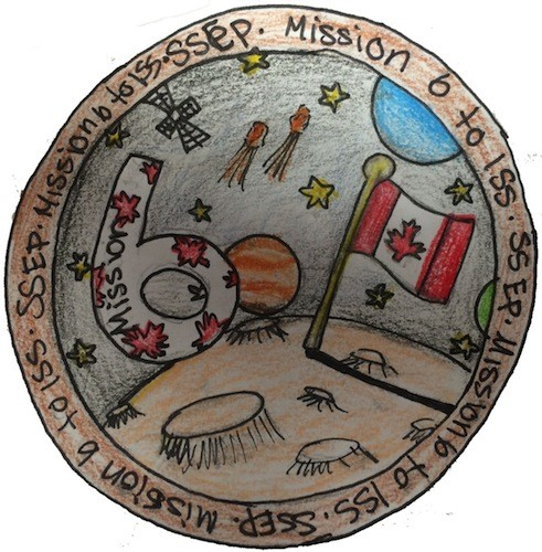 Mission Patches On Mission 4 To The International Space: Mission Patches On Mission 6 To The International Space