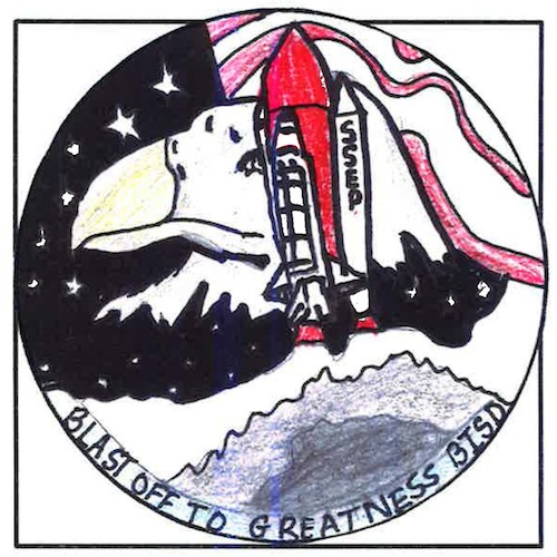 Burleson, Texas, Mission Patch 2
