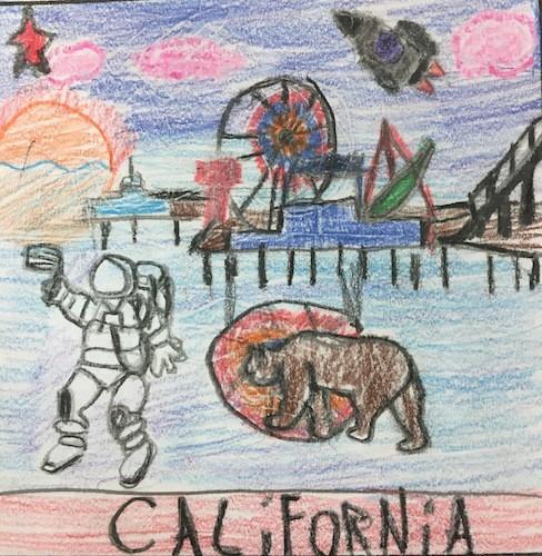 Santa Monica, California, Mission Patch 1