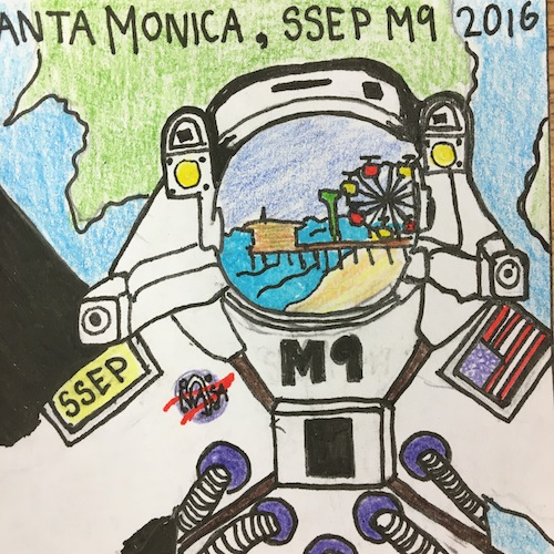 Mission Patches On Mission 4 To The International Space: Mission Patches On Mission 9 To The International Space
