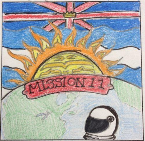 Coquitlam, British Columbia, Canada Mission Patch 1