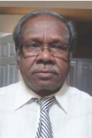 Dr. Saroj Pramanik Associate Professor, Department Biology Morgan State University