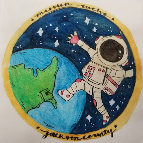 Mission Patches On Mission 4 To The International Space: Mission Patches On Mission 12 To The International Space
