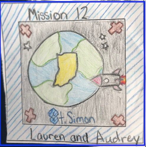 Indianapolis, Indiana Mission Patch 2