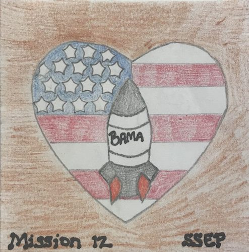 Winfield City, Alabama Mission Patch 1