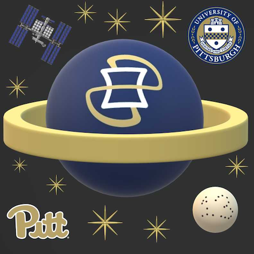 Pittsburgh, Pennsylvania - University of Pittsburgh Mission Patch