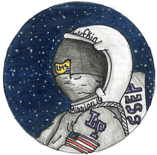 Lufkin, Texas Mission Patch 2