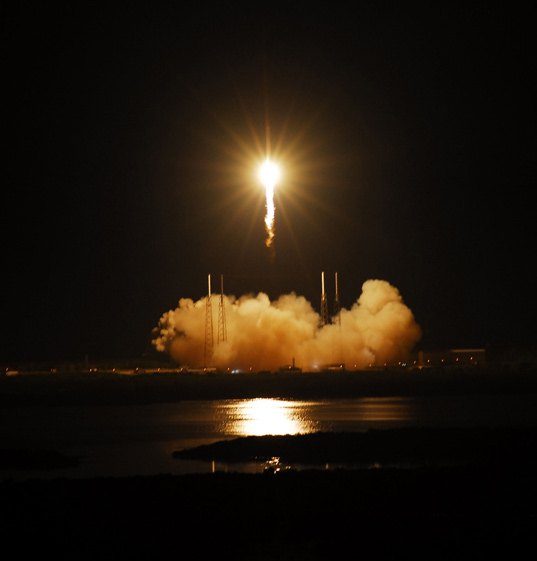 launch of spacex