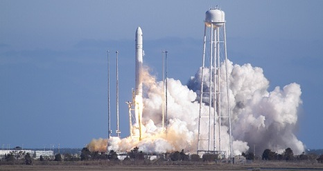 Antares Launch from MARS