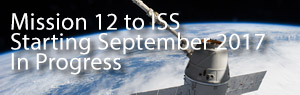 Mission 12 to ISS, Starting September 2017, In Progress