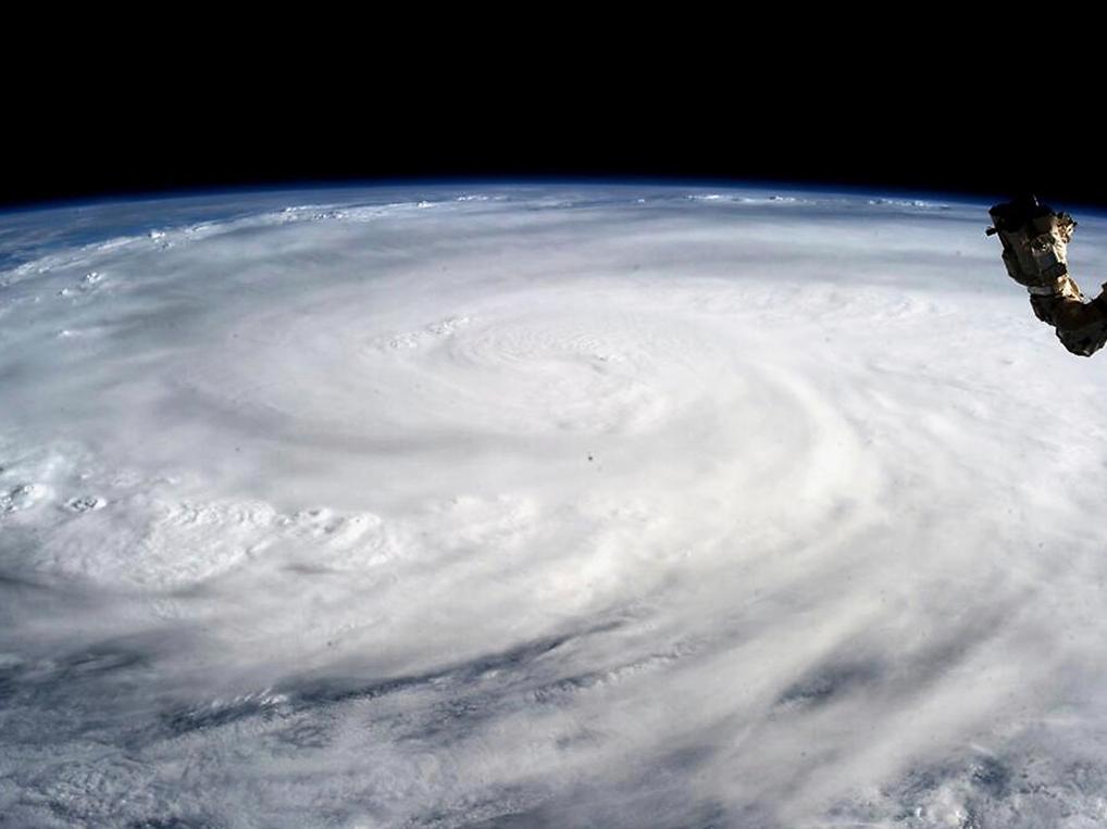 Typhoon Haiyan, Karen Nyberg