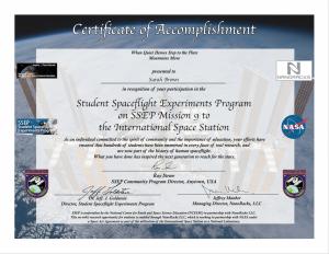 Cert SSEP M9 IndivSample