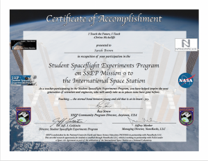Cert SSEP M9 TeacherSample