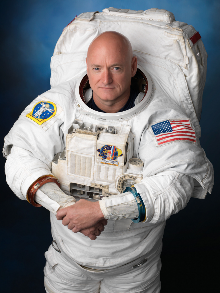 ISS Station Commnder Scott Kelly
